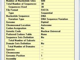 使用DnaSP计算核苷酸多样性和单倍型多样性