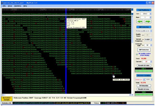 MapView:海量短序列比对结果的可视化软件