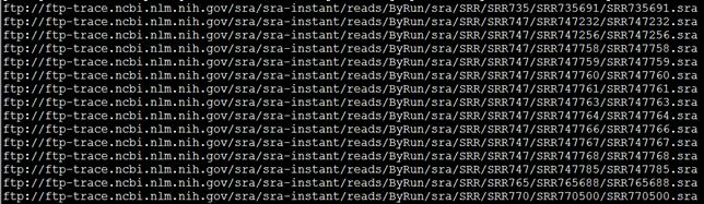 SRA工具sratoolkit把原始测序数据转为fastq格式
