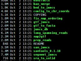 转录组比对软件tophat的使用