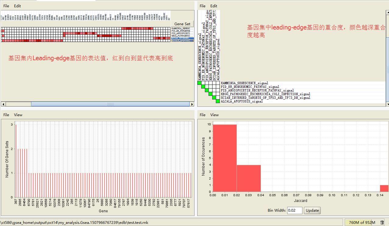 GSEA富集分析 – 界面操作