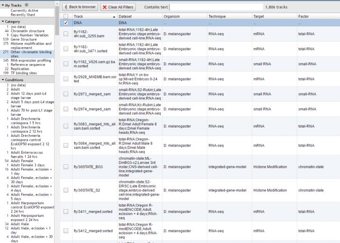 Browse基因浏览器介绍