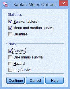 KM法生存分析(SPSS教程)