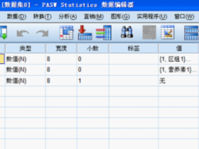 SPSS学习笔记之——多因素方差分析