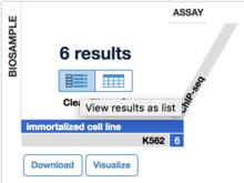 使用REST API批量下载ENCODE数据