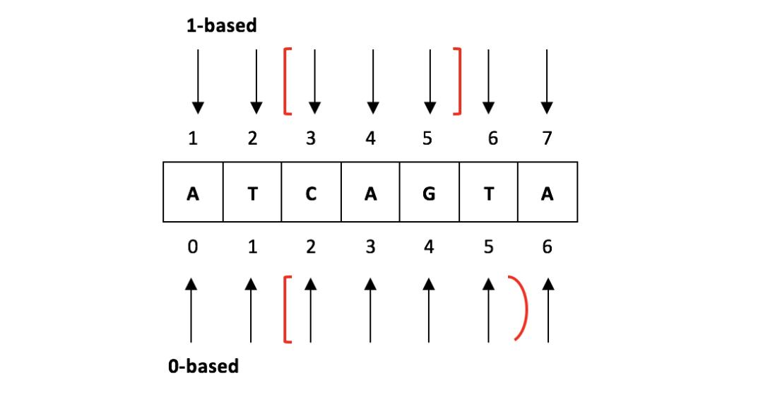 生物信息常见文件的格式以及查看方式