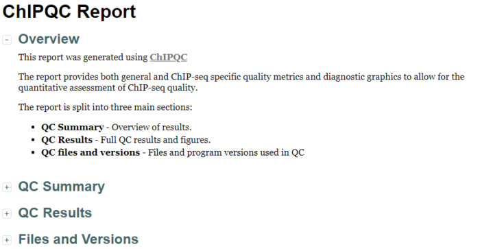 ATAC-Seq分析教程:对ATAC-Seq/ChIP-seq的质量评估(二)ChIPQC