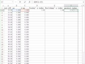 如何借助ROC曲线筛选最优界值